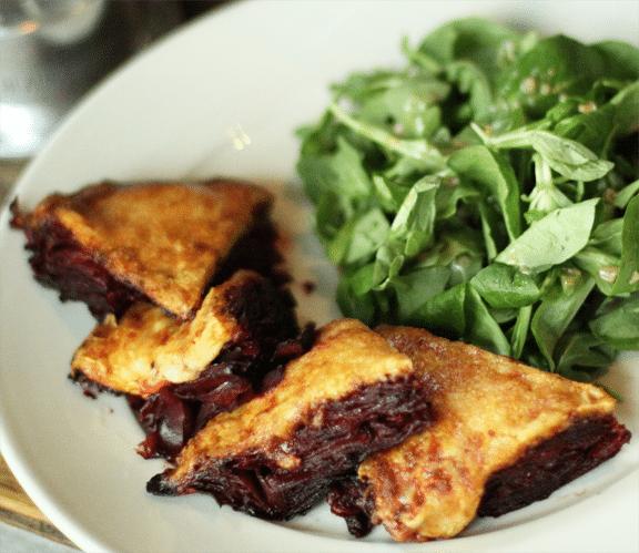 beet gratin signature dish